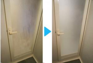 浴室,扉,湯垢おとし