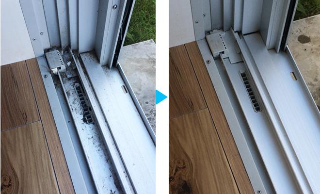 窓サッシ,ガラス,掃除