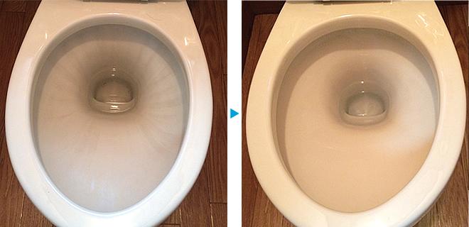 トイレクリーニング例写真