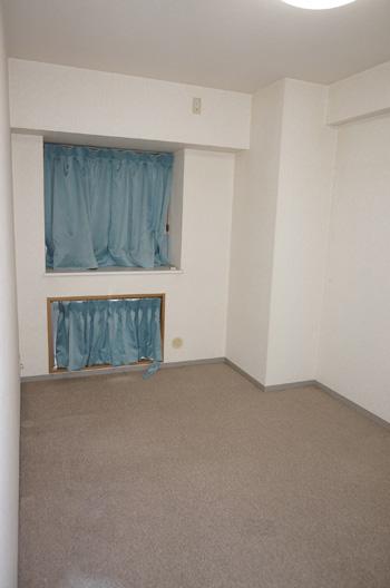 空室対策,養生カーテン、町田市,空き部屋