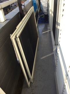 窓ふき,サッシ,掃除