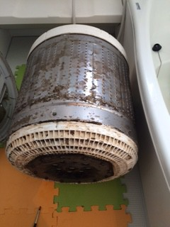 ハウスクリーニング,町田市,全自動洗濯機