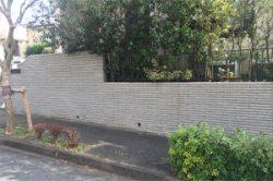 塀,高圧洗浄,掃除,町田市