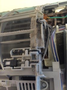 エアコンクリーニング,東芝RAS5622D