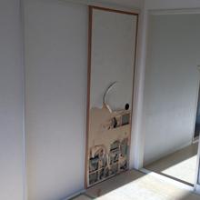 襖修理,町田市中町アパート
